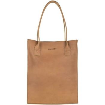 Tassen Dames Handtassen lang hengsel Dstrct Leren Shopper 12 inch River Side Bruin