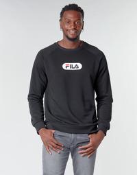 Textiel Heren Sweaters / Sweatshirts Fila BAHA RAGLAN CREW Zwart