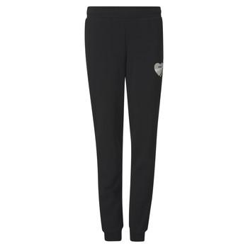 Textiel Meisjes Trainingsbroeken Puma ALPHA SWEAT PANT Zwart