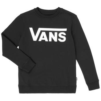 Textiel Jongens Sweaters / Sweatshirts Vans VANS CLASSIC CREW Zwart