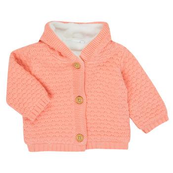 Textiel Meisjes Vesten / Cardigans Noukie's Z050003 Roze