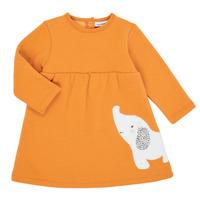 Textiel Meisjes Korte jurken Noukie's Z050083 Oranje