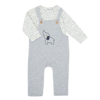 Textiel Jongens Setjes Noukie's Z050372 Grijs