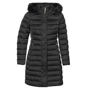 Textiel Dames Dons gevoerde jassen Geox BETTANIE Zwart