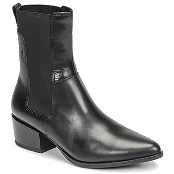 Schoenen Dames Enkellaarzen Vagabond Shoemakers MARJA Zwart