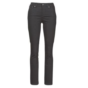 Textiel Dames Straight jeans Lauren Ralph Lauren PRM STRAIGHT Zwart
