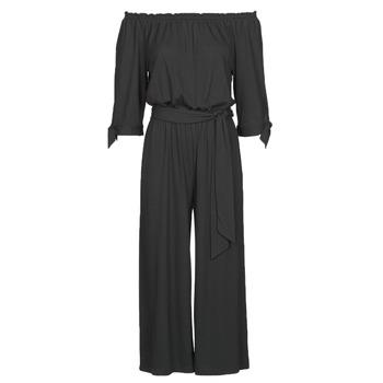 Textiel Dames Jumpsuites / Tuinbroeken Lauren Ralph Lauren VANDRIN Zwart
