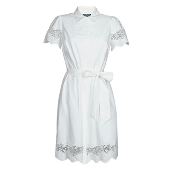 Textiel Dames Korte jurken Lauren Ralph Lauren DORTHIA Wit