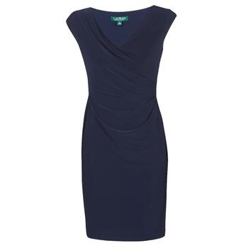 Textiel Dames Korte jurken Lauren Ralph Lauren BRANDIE Marine