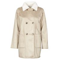 Textiel Dames Mantel jassen Lauren Ralph Lauren RVRSBL FXSH-COAT Camel