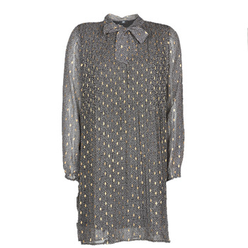 Textiel Dames Korte jurken Le Temps des Cerises CHANI Grijs