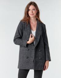 Textiel Dames Mantel jassen Le Temps des Cerises DILAN1 Zwart