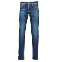 Textiel Heren Straight jeans Le Temps des Cerises 812 BASIC Blauw