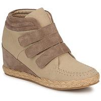 Schoenen Dames Hoge sneakers No Name SPLEEN STRAPS Beige / Taupe