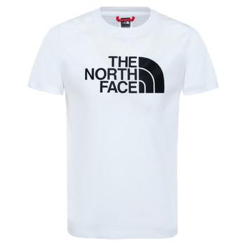 Textiel Jongens T-shirts korte mouwen The North Face EASY TEE Wit