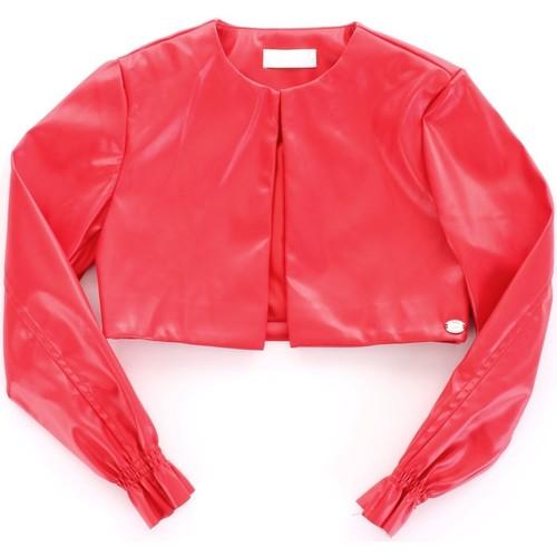 Textiel Meisjes Leren jas / kunstleren jas Byblos Blu BJ14994 Rosso