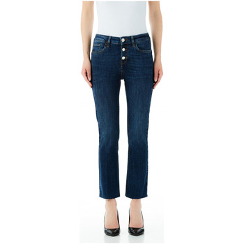 Textiel Dames Skinny jeans Liu Jo Blue Denim BOTTOM UP PRINCESS H.W 77411-dem-blue-event-wash