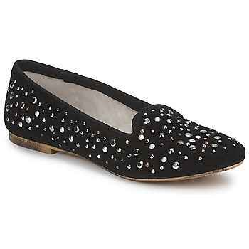 Schoenen Dames Mocassins Meline ALTINO Zwart
