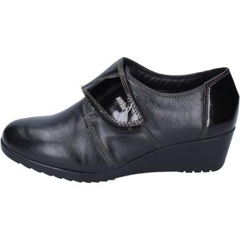 Schoenen Dames Mocassins Adriana Del Nista sneakers pelle Nero