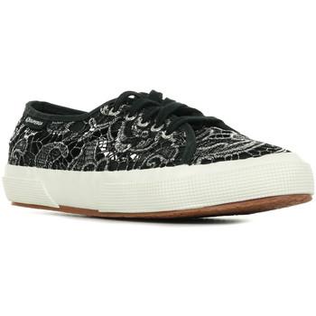 Schoenen Dames Lage sneakers Superga 2750 Macramemetw Zwart