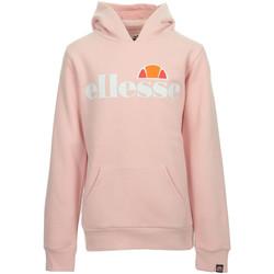 Textiel Meisjes Sweaters / Sweatshirts Ellesse Isobel Hoody Kids Roze
