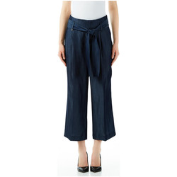 Textiel Dames Losse broeken / Harembroeken Liu Jo Blue Denim PANTALONE DISCOVER H.W. 77000-normal-wash