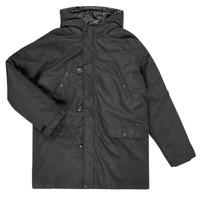 Textiel Jongens Dons gevoerde jassen Guess L0BL08-WDEH0-JBLK Zwart
