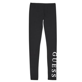 Textiel Meisjes Leggings Guess J94B16-K82K0-JBLK Zwart