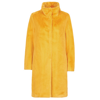 Textiel Dames Mantel jassen S.Oliver 05-009-52 Geel