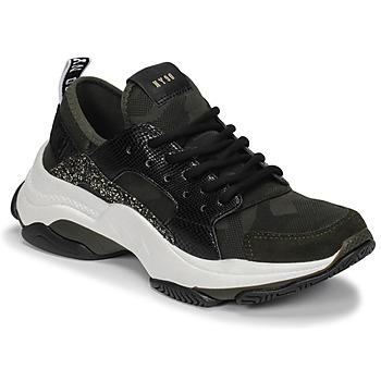 Schoenen Dames Lage sneakers Steve Madden AJAX Kaki
