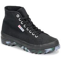 Schoenen Dames Hoge sneakers Superga 2341 ALPINA MARBLEGUM Zwart