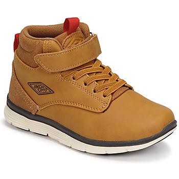 Schoenen Jongens Hoge sneakers Umbro JAGGY VLC Bruin