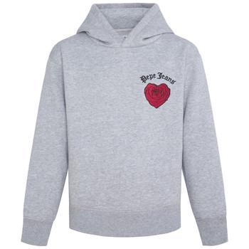 Textiel Meisjes Sweaters / Sweatshirts Pepe jeans NONI Grijs