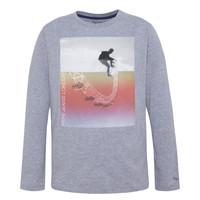 Textiel Jongens T-shirts met lange mouwen Pepe jeans EDGAR Grijs