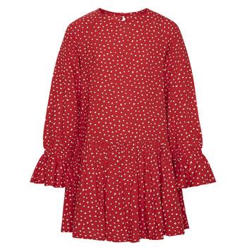Textiel Meisjes Korte jurken Pepe jeans CATY Rood