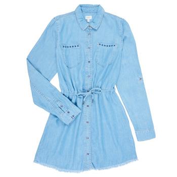 Textiel Meisjes Korte jurken Pepe jeans ZOEY Blauw