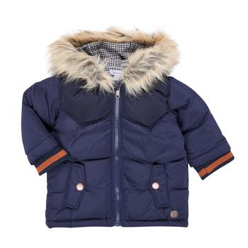 Textiel Jongens Parka jassen Absorba 9R42062-04-B Marine