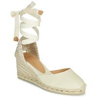 Schoenen Dames Sandalen / Open schoenen Castaner CARINA Ivory