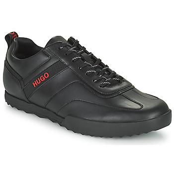 Schoenen Heren Lage sneakers HUGO MATRIX LOWP NA Zwart