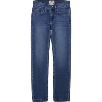 Textiel Jongens Skinny jeans Timberland T24B15 Blauw