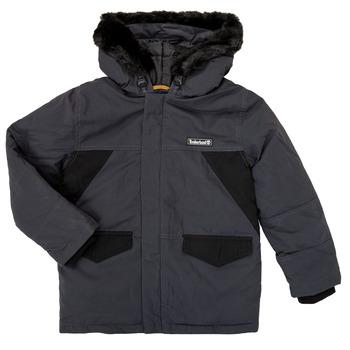 Textiel Jongens Parka jassen Timberland T26525 Grijs