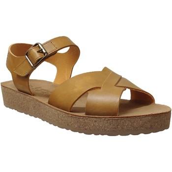 Schoenen Dames Sandalen / Open schoenen Mobils By Mephisto Candie Geel leer