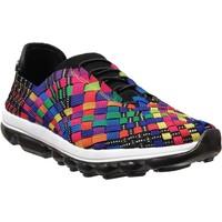 Schoenen Dames Lage sneakers Bernies Mev Gummies victoria Zwart veelkleurig