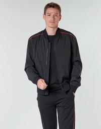 Textiel Heren Wind jackets BOSS BRUCE2031 Zwart