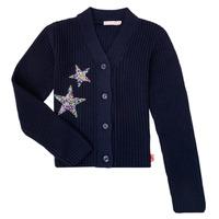 Textiel Meisjes Vesten / Cardigans Billieblush / Billybandit U15758 Blauw