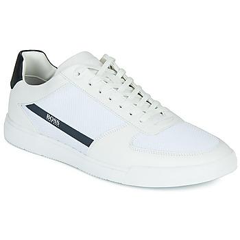 Schoenen Heren Lage sneakers BOSS COSMOPOOL TENN MXME Wit