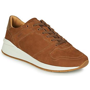 Schoenen Heren Lage sneakers BOSS ELMNT RUNN NUSF Cognac