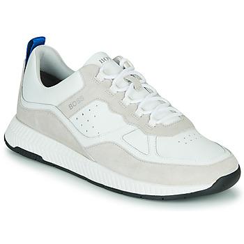 Schoenen Heren Lage sneakers BOSS TITANIM RUNN LTMX Wit