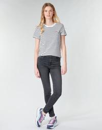 Textiel Dames Skinny Jeans Levi's 720 HIGH RISE SUPER SKINNY Gerookt / Out