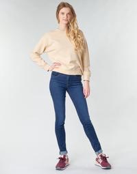 Textiel Dames Skinny Jeans Levi's 721 HIGH RISE SKINNY Blauw
